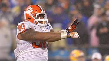Clemson's Dexter Lawrence 'at peace' as he awaits drug test results