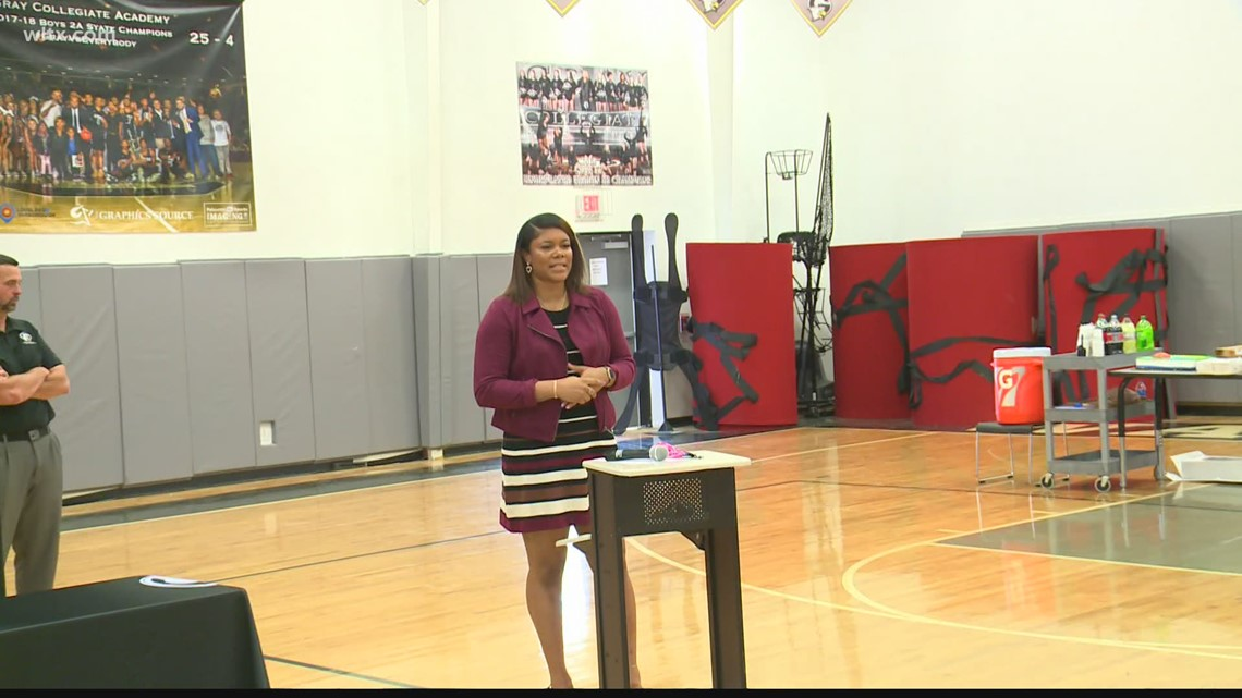 Ashley Bruner takes the reigns at Gray Collegiate Academy