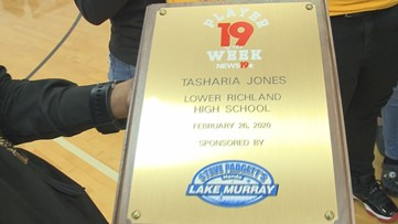 Lower Richland senior is the News19 Player of the Week