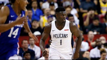The Zion Show arrives in Las Vegas for the summer league