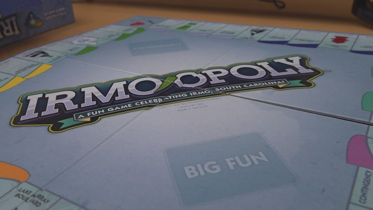 Irmo-themed Monopoly game 'Irmo-opoly' hits shelves in town
