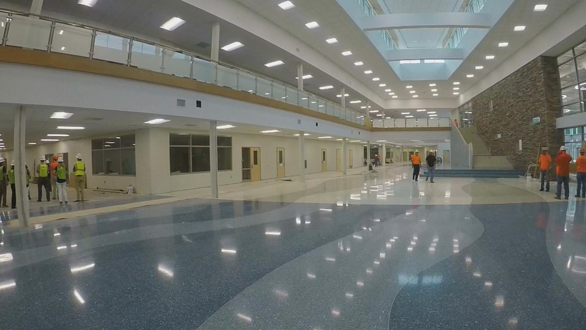Lexington One give tour of Beechwood Middle School