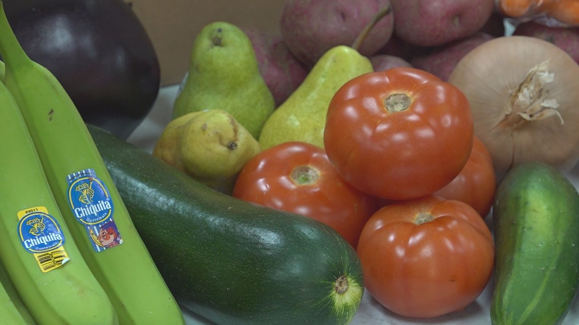 Fresh produce now available at Orangeburg County Library