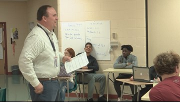 Teacher of the Week: Derrick Gunter