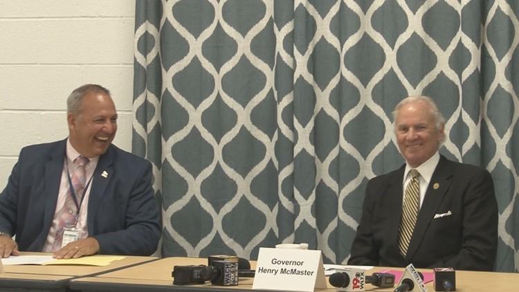 Governor praises SC school district for COVID prevention success