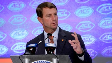 Swinney says the ACC doubters can't have it both ways