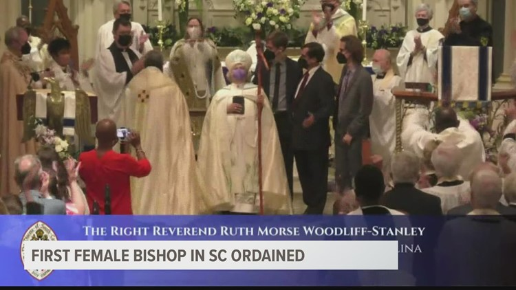 South Carolina sees its first woman ordained as Bishop