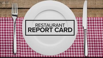 Restaurant Report Card: September 12 2019
