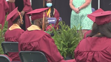 Graduations in Columbia look a little different this year