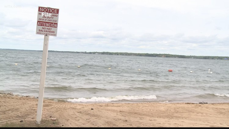 Petition calls for Lake Murray beach to reopen