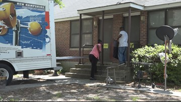 Four months later, Allen Benedict residents still moving out belongings