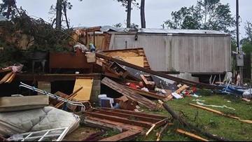 Possible tornadoes damage homes, down trees across South Carolina