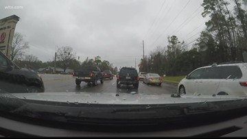 Holiday traffic makes Harbison Blvd. a nightmare