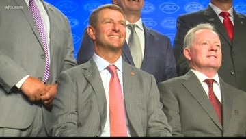 Dabo talks leadership and starting over ... again