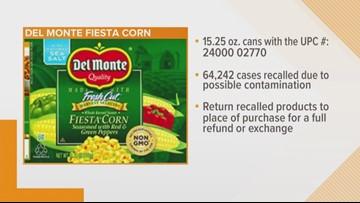 Del Monte recalls 64K cases of fiesta corno