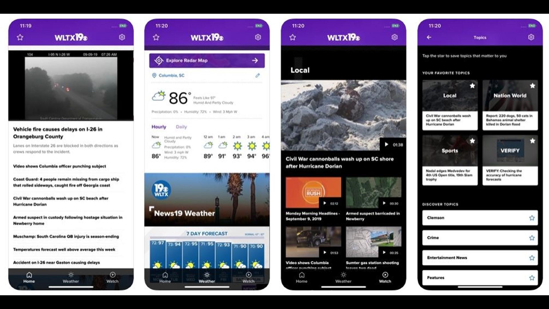 Download The New Wltx App Wltx Com
