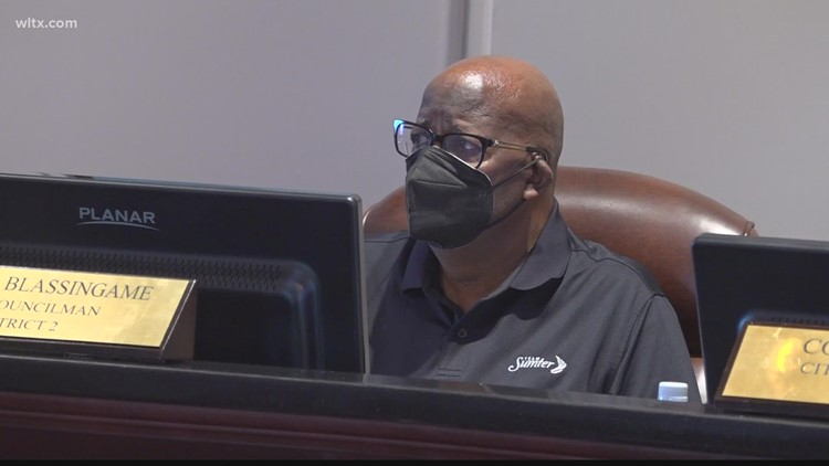 Sumter council recommends indoor mask wearing