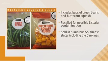 Green beans, butternut squash recalled for possible listeria contamination