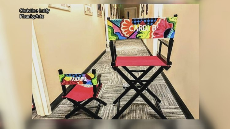 Director Chairs for Cardi B and Kulture