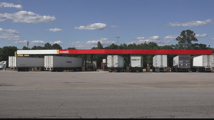 Gas shortage having an effect on truckers