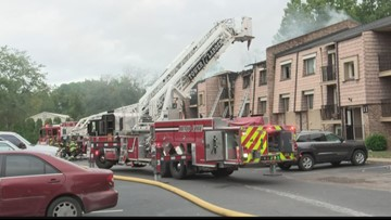Fire damages units at Briargate condos