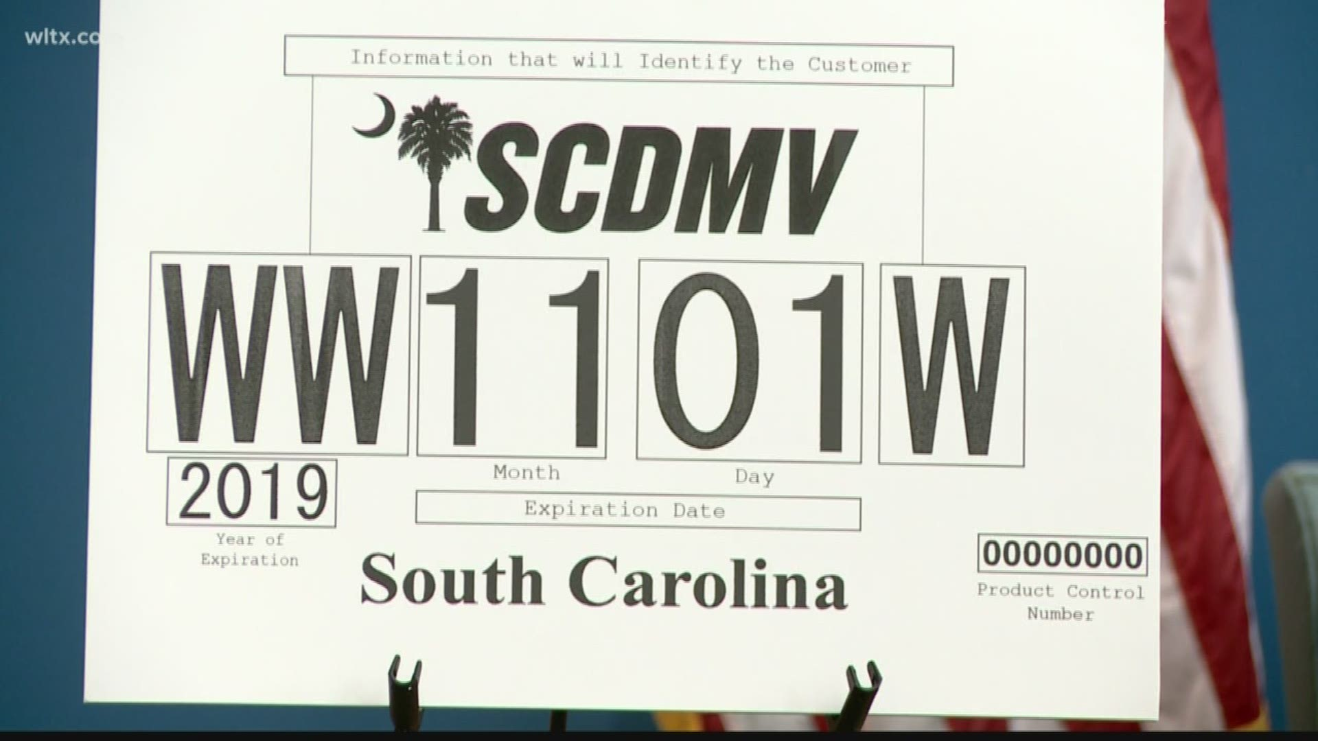 South Carolina Unveils New Trackable Temporary License Plates