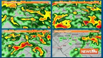 Post-Tropical Storm Nestor brings rain to South Carolina