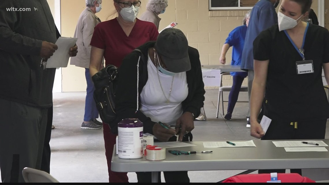 Orangeburg no-appointment vaccine clinic going smoothly, residents say