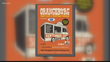 Orangeburg food truck festival