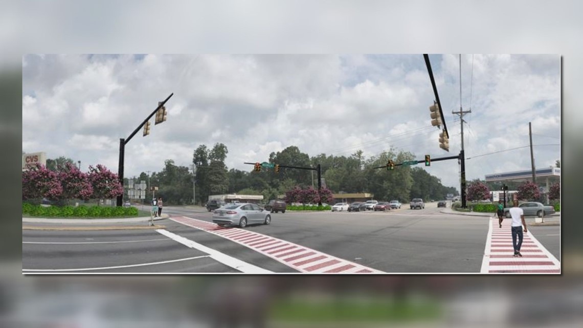 Pedestrian safety taking center stage outside of SC State University