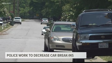 Police working to cut down on car break-ins