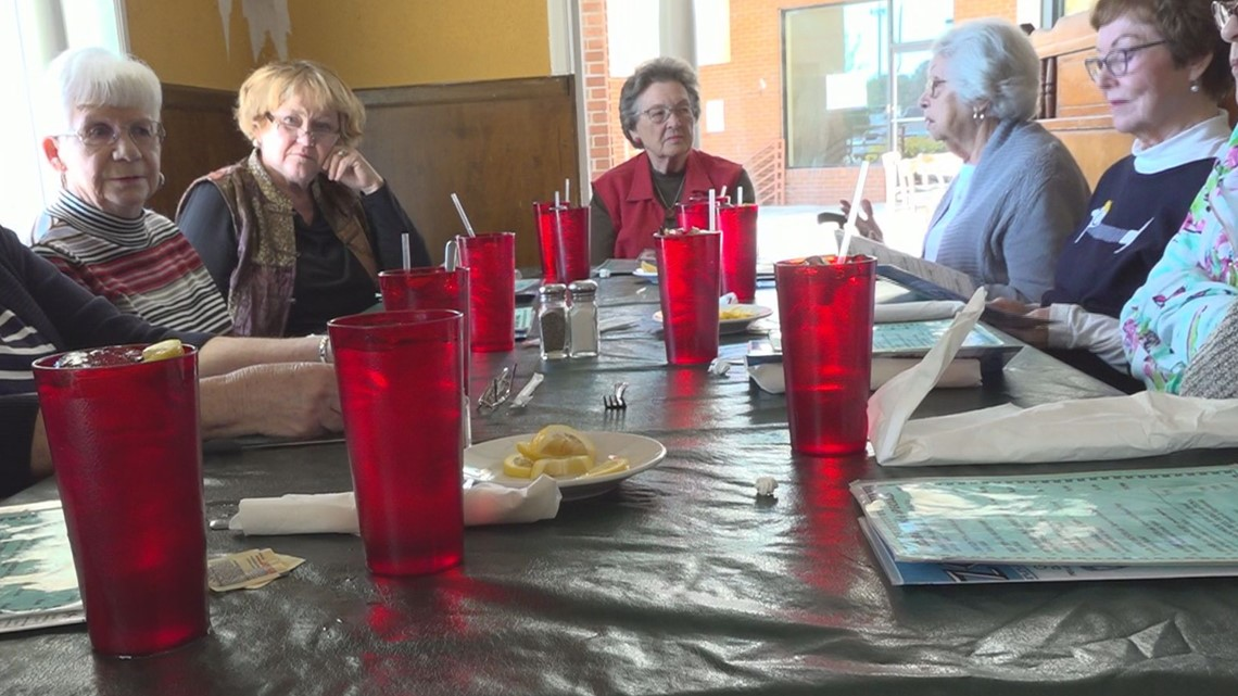 Retired Irmo High School employees make sure they get together monthly