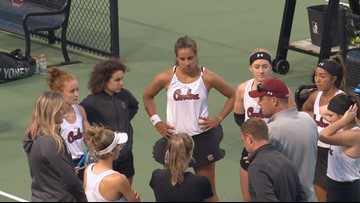 Gamecocks Advance To SEC Women's Tennis Championship
