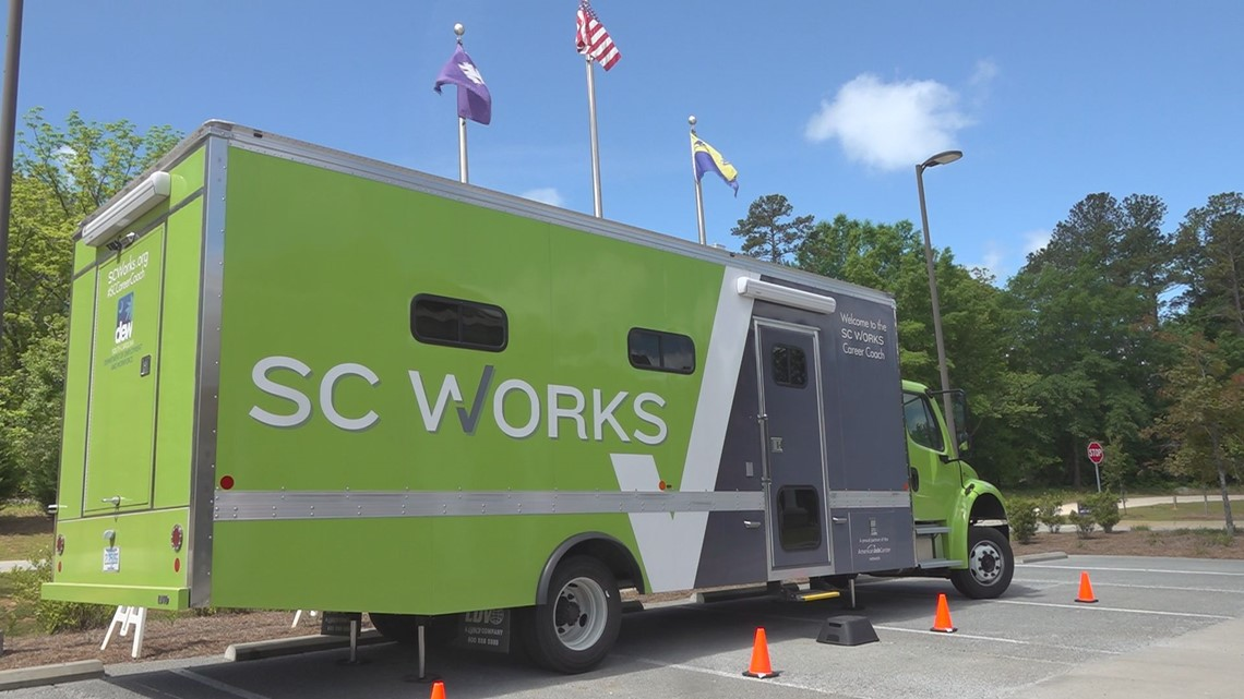 SC Works mobile unit can come straight to you