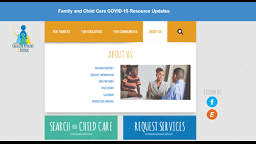Struggling to find child care? Here's a free resource that can help