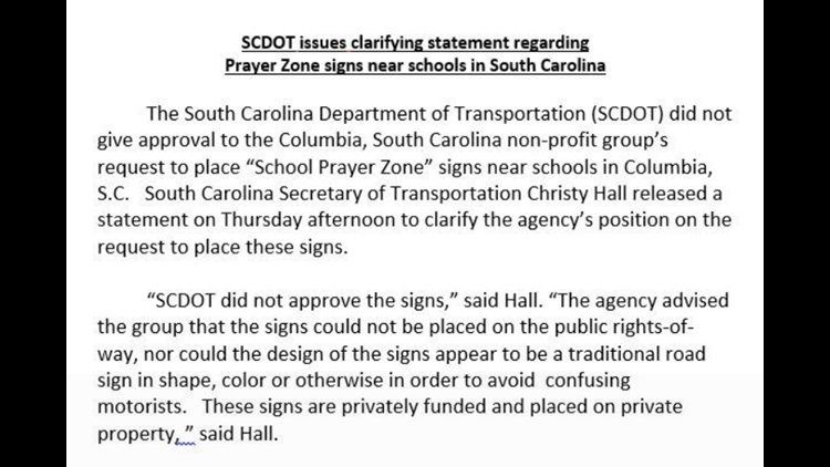 scdot statement