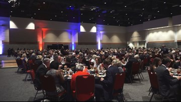 Hundreds of gather for 52nd Annual Silver Elephant Dinner