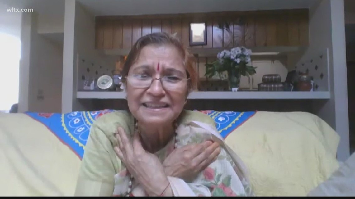 Midlands woman fears for her family's wellbeing in India