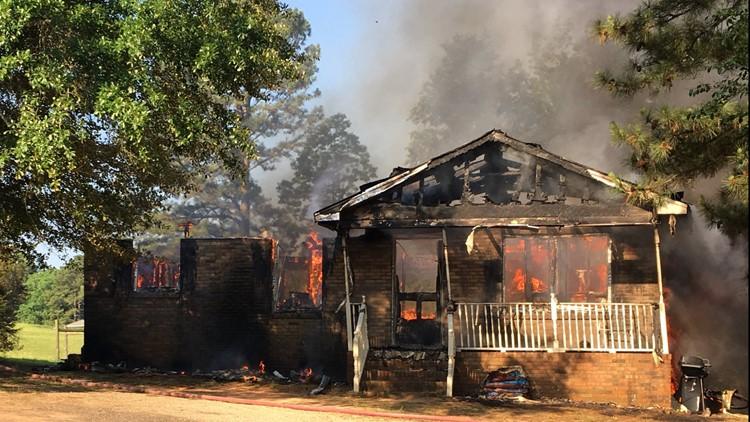 Smalls Chapel Road House Fire