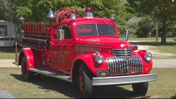'You can't get rid of part of the family' Batesburg-Leesville Fire Department still uses truck from the 1940's