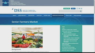 Farmers market food vouchers available to lower income senior citizens