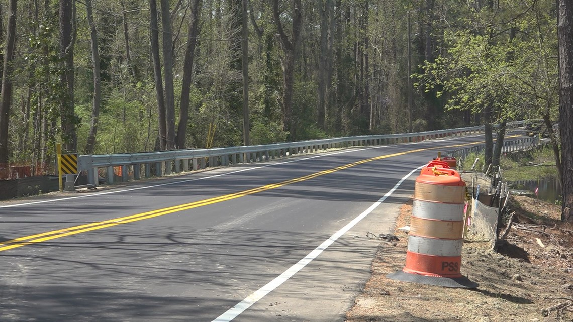 Closed road from 2015 floods reopens four years later