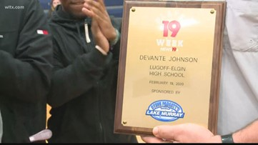 Player of the Week - DeVante Johnson