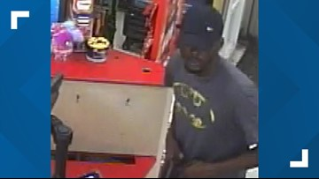 Family Dollar robber forced employees to lie on ground, police say
