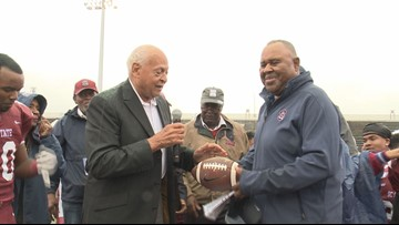 Community reacts to head Buddy Pough's milestone at South Carolina State University