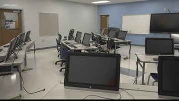 Kershaw County cuts the ribbon on the new Woolard Technology Center