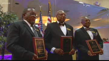 Pioneering Trio Become First Black Referees Inducted Into South Carolina Football Officials Association Hall Of Fame