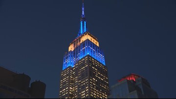 Newly-renovated Empire State Building open for viewing