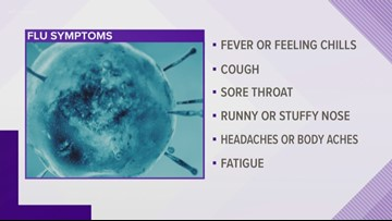 Flu: The numbers and the symptoms