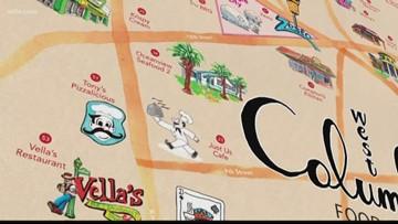 Food maps promotes restaurants